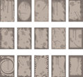 Grunge backgrounds and borders Royalty Free Stock Photo