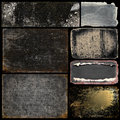 Grunge banners and backgrounds Royalty Free Stock Photo