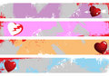 Grunge banners place your text here Royalty Free Stock Photos