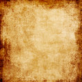 Grunge beige background vintage paper texture with frame Royalty Free Stock Images