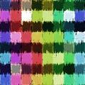 Grunge blocks canvas Royalty Free Stock Photo