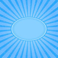 Grunge Blue Striped Card Royalty Free Stock Photo