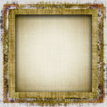 Grunge Border Frame Stock Photography