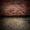 Mattone muro piano