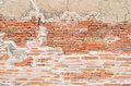 Grunge brick wall texture background with vintage and vignette t tone Stock Image