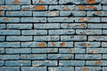 Grunge bricks wall Stock Images
