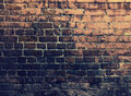 Grunge bricks wall urban background Stock Images