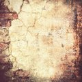 Grunge brown wall Stock Photography