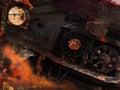 Grunge Car Background