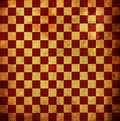 Grunge Checkered rouge Photo libre de droits
