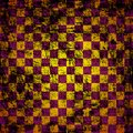 Grunge chessboard background Royalty Free Stock Image