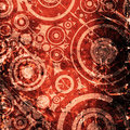Grunge circles background Royalty Free Stock Photos
