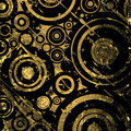 Grunge circles background Royalty Free Stock Images