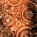Grunge circles background Royalty Free Stock Photo