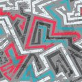 Grunge colored graffiti seamless pattern eps Royalty Free Stock Photos