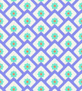 Grunge colorful geometric seamless pattern Royalty Free Stock Photo
