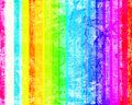 Grunge colorful stripes Stock Images