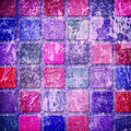Grunge colourful squares Royalty Free Stock Image