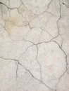 Grunge concrete cement wall with crack in industrial building, great for your design and texture background Royalty Free Stock Photo