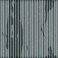 Grunge corrugated iron Stock Image