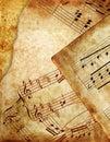 Grunge de la música Imágenes de archivo libres de regalías