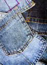 Grunge denim background Stock Image