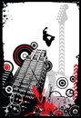 Grunge Design Background Stock Image