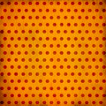 Grunge dotted background Royalty Free Stock Image