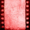 Grunge Film Frame effect Stock Images