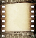Grunge film strip background scratched Royalty Free Stock Photo