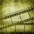 Grunge film strip effect backgrounds Royalty Free Stock Photos