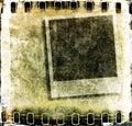 Grunge film strip frame Royalty Free Stock Photo