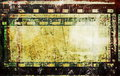 Grunge film strip frame background old Royalty Free Stock Photo