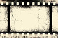 Grunge filmstrip may be used as a background design element Stock Images
