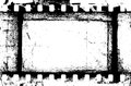 Grunge filmstrip may be used as a background design element Royalty Free Stock Photo