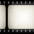 Grunge filmstrip old close up Stock Images