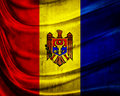 Grunge flag Republic of Moldova Royalty Free Stock Photos