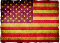 Grunge flag U.S.A United States Stock Images