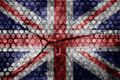 Grunge flag of united kingdom Royalty Free Stock Images