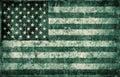 Grunge flag of USA Stock Images