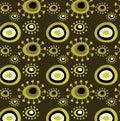 Grunge floral pattern Royalty Free Stock Photo
