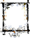 Grunge frame and border series Royalty Free Stock Photo