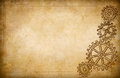 Grunge gears and cogs drawing background Stock Photo