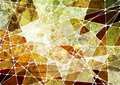 Grunge geometric mosaic background Stock Photography