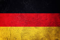 Grunge Germany flag. German flag with grunge texture. Royalty Free Stock Photo