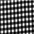 Grunge gingham texture digitally created black and white fabris Royalty Free Stock Images