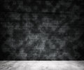 Grunge Gray Brick Wall Background Royalty Free Stock Photo