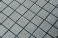 Grunge gray ceramic tile floor Royalty Free Stock Photo