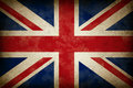 Grunge Great Britain Flag Royalty Free Stock Photo