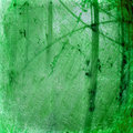 Grunge green luminous cracked abstract background Royalty Free Stock Photo